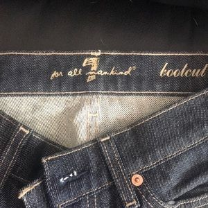 For all mankind bootcut women's jeans